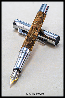 Chris_Moore_Image-of-the-Month_April-Color-A_Cork-Barrel-Fountain-Pen