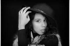 Ramon_Richards_Honorable-Mention_March-Monochrome_Model-Portrait
