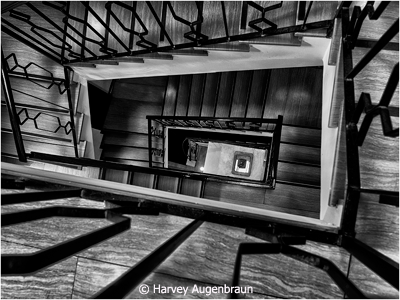 November-Black-and-White_Augenbraun_Harvey_Hotel-Staircase