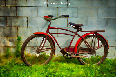november-theme-bicycles_dooley_jennifer_red-bicycle