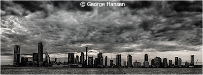 George_Hansen_NJ-Skyline-at-Sunset_Image-of-the-Month_September-Monochrome_20190921