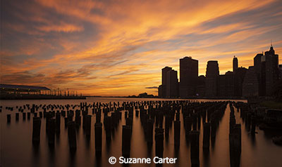 Suzanne-Carter_East-River-Sunset_September-Color-AA_East-River-Sunset_Honorable-Mention