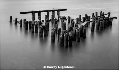 september-bw_augenbraun_harvey_hudson-river-pilings